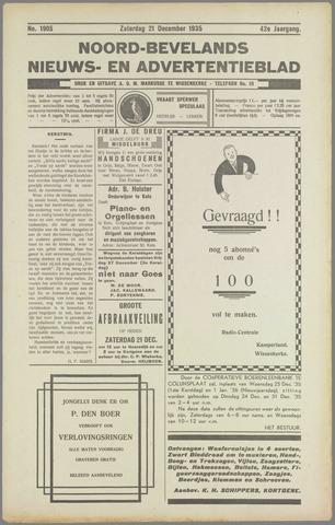 Noord-Bevelands Nieuws- en advertentieblad 1935-12-21