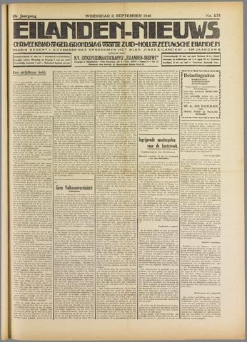 Eilanden-nieuws. Christelijk streekblad op gereformeerde grondslag 1940-09-11