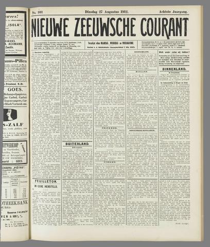 Nieuwe Zeeuwsche Courant 1912-08-27