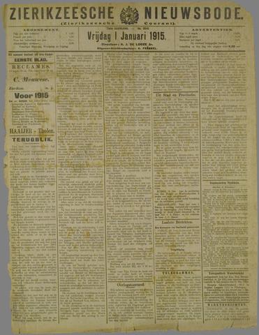 Zierikzeesche Nieuwsbode 1915-01-01