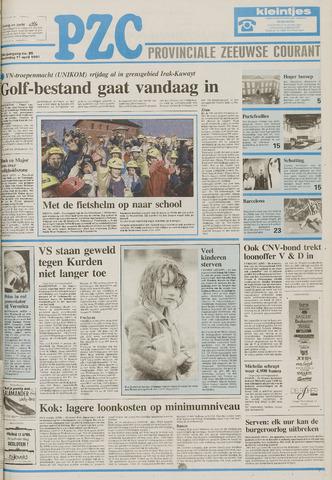 Provinciale Zeeuwse Courant 1991-04-11