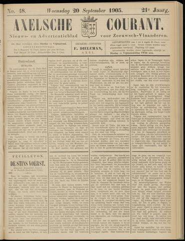 Axelsche Courant 1905-09-20