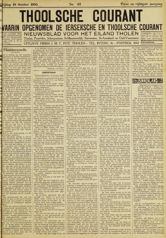 Ierseksche en Thoolsche Courant 1935-10-18
