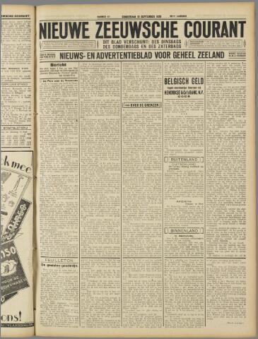 Nieuwe Zeeuwsche Courant 1930-09-18