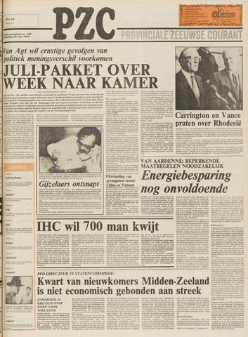 Provinciale Zeeuwse Courant 1979-05-22