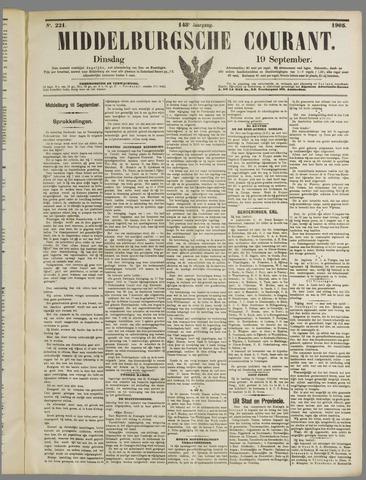 Middelburgsche Courant 1905-09-19