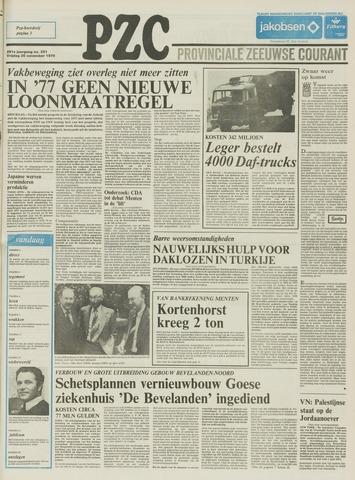 Provinciale Zeeuwse Courant 1976-11-26