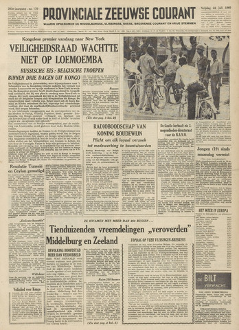 Provinciale Zeeuwse Courant 1960-07-22