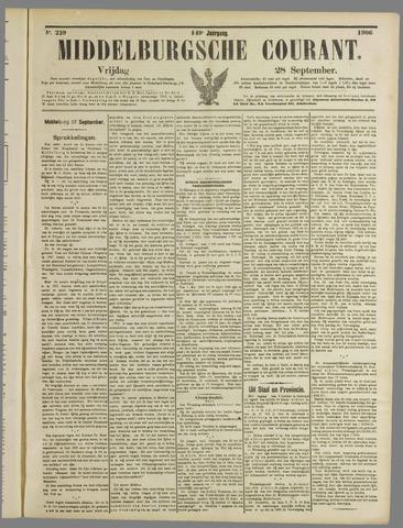 Middelburgsche Courant 1906-09-28