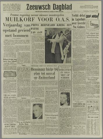Zeeuwsch Dagblad 1962-01-25