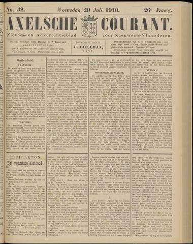 Axelsche Courant 1910-07-20