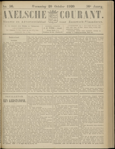 Axelsche Courant 1920-10-20