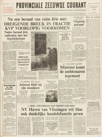 Provinciale Zeeuwse Courant 1968-02-22