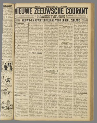 Nieuwe Zeeuwsche Courant 1931-10-20