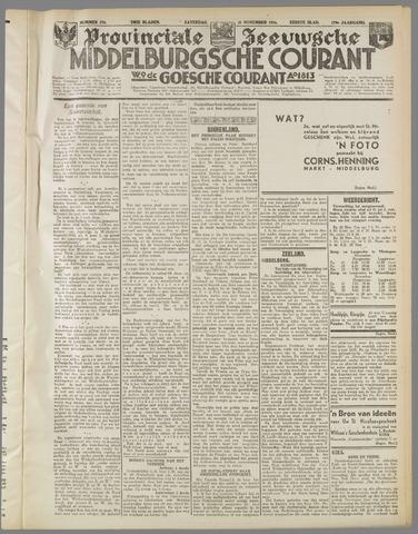 Middelburgsche Courant 1936-11-21