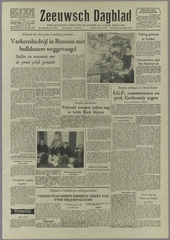 Zeeuwsch Dagblad 1957-10-03