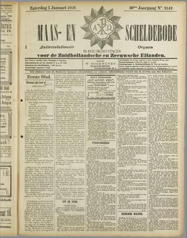 Maas- en Scheldebode 1916