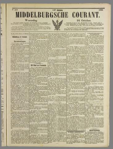 Middelburgsche Courant 1906-10-24