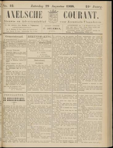 Axelsche Courant 1908-08-29