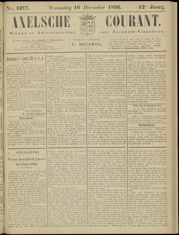 Axelsche Courant 1896-12-16