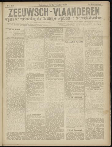 Luctor et Emergo. Antirevolutionair nieuws- en advertentieblad voor Zeeland / Zeeuwsch-Vlaanderen. Orgaan ter verspreiding van de christelijke beginselen in Zeeuwsch-Vlaanderen 1919-11-15