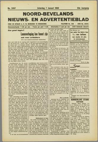Noord-Bevelands Nieuws- en advertentieblad 1950-01-07