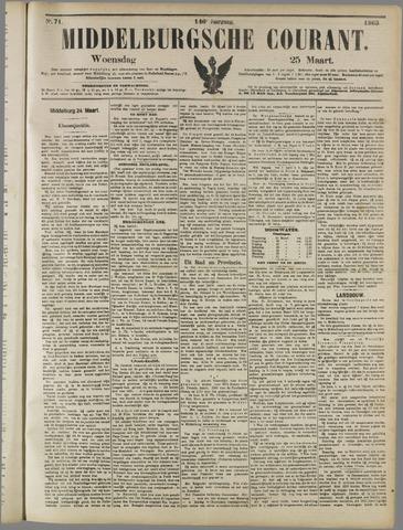 Middelburgsche Courant 1903-03-25