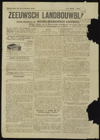 Zeeuwsch landbouwblad ... ZLM land- en tuinbouwblad 1941-11-22
