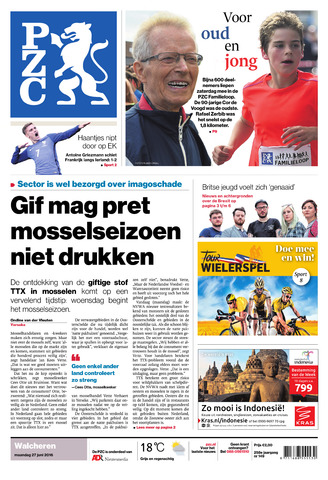 Provinciale Zeeuwse Courant 2016-06-27