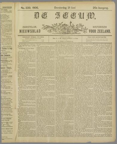 De Zeeuw. Christelijk-historisch nieuwsblad voor Zeeland 1906-06-21