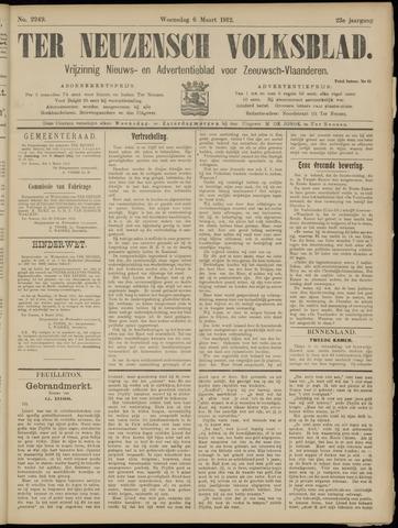 Ter Neuzensch Volksblad. Vrijzinnig nieuws- en advertentieblad voor Zeeuwsch- Vlaanderen / Zeeuwsch Nieuwsblad. Nieuws- en advertentieblad voor Zeeland 1912-03-06