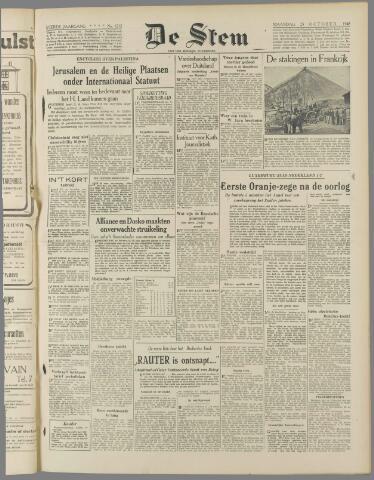 de Stem 1948-10-25