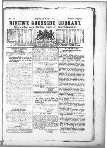 Nieuwe Goessche Courant 1874-03-24