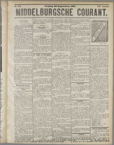 Middelburgsche Courant 1921-09-23