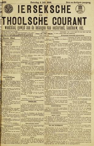 Ierseksche en Thoolsche Courant 1916-07-01