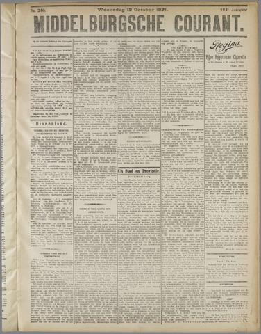 Middelburgsche Courant 1921-10-12