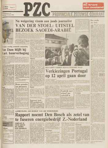 Provinciale Zeeuwse Courant 1975-03-13