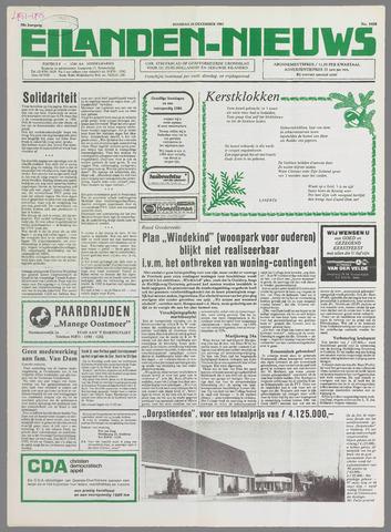 Eilanden-nieuws. Christelijk streekblad op gereformeerde grondslag 1985-12-24