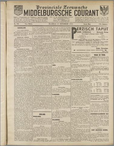 Middelburgsche Courant 1932-11-21