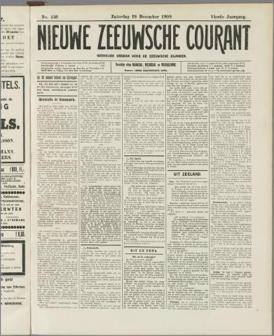 Nieuwe Zeeuwsche Courant 1908-12-19
