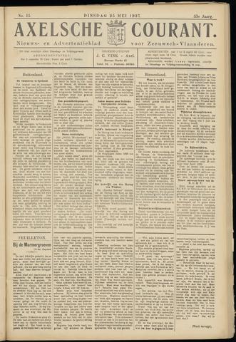 Axelsche Courant 1937-05-25