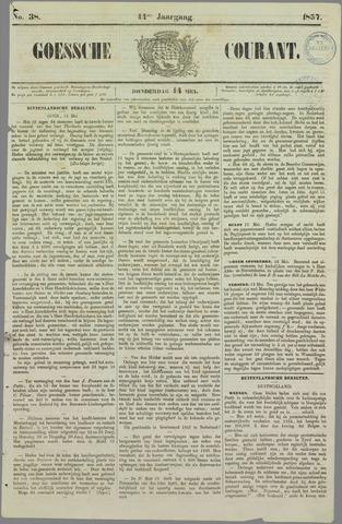 Goessche Courant 1857-05-14