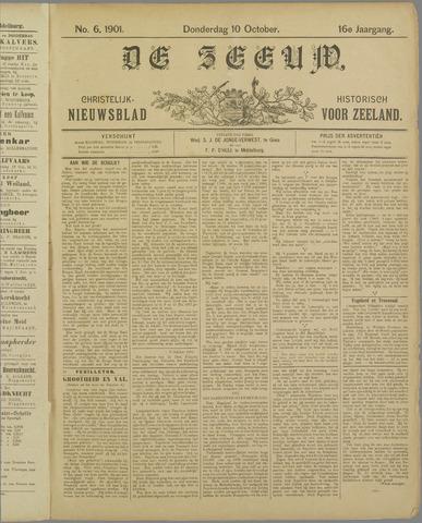 De Zeeuw. Christelijk-historisch nieuwsblad voor Zeeland 1901-10-10