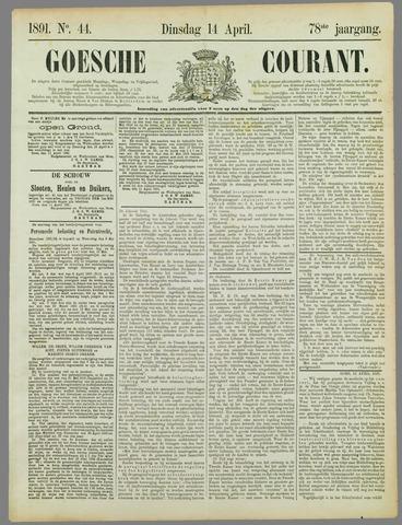 Goessche Courant 1891-04-14