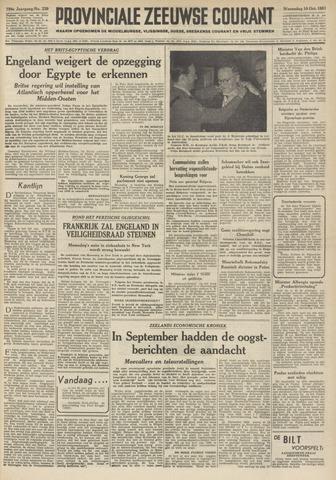 Provinciale Zeeuwse Courant 1951-10-10
