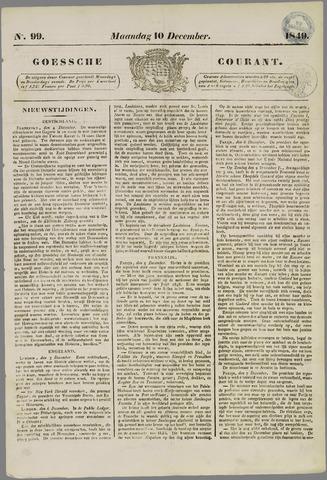 Goessche Courant 1849-12-10