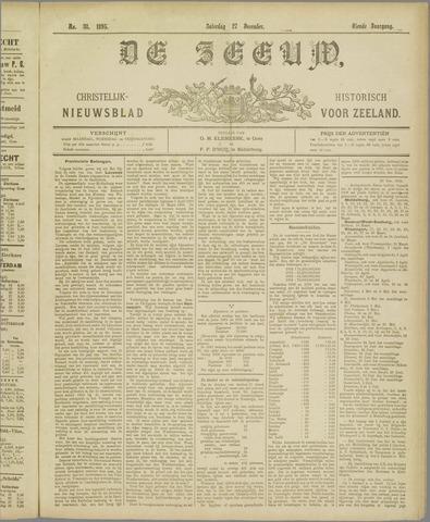De Zeeuw. Christelijk-historisch nieuwsblad voor Zeeland 1895-12-27