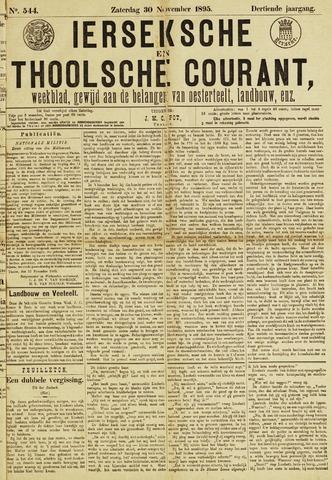 Ierseksche en Thoolsche Courant 1895-11-30