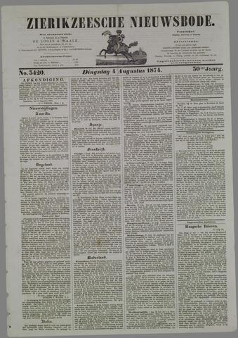 Zierikzeesche Nieuwsbode 1874-08-04
