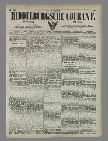 Middelburgsche Courant 1891-06-24